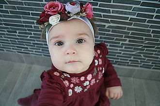 Detské doplnky - Čelenka pre mini družičku - 10557011_