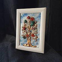 Obrazy - 3D obraz / mix minerálov / stromček šťastia 2 - 10557993_