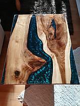 Nábytok - Stôl z orecha - 10560026_