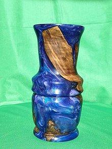 Dekorácie - Živicová váza č. 2 - 10559862_