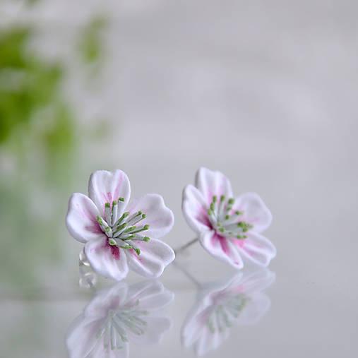 Květ sakury na ouška