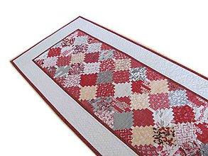 Úžitkový textil - Obrus - štóla Chateau Rouge - 10560666_