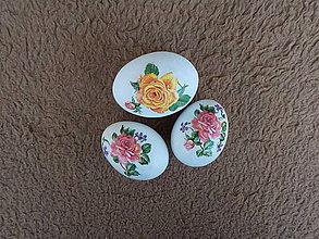Dekorácie - Kraslice s ružami - 10561064_