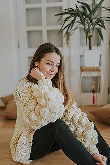 Svetre/Pulóvre - Bubble sweater - 10561202_