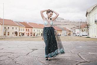 Šaty - Čierne šaty Noc Pod Tatrami - 10562676_