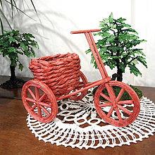Dekorácie - Bicyklik MIRKO 19x13cm - 10562669_