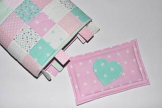 Úžitkový textil - Zástena nad posteľ&vankúšik* - 10561403_