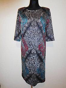 Šaty - Kašmírový luxus - 10561126_