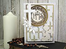 Papiernictvo - 1.sväté prijímanie I. pohľadnica - 10561511_