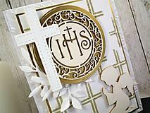 Papiernictvo - 1.sväté prijímanie I. pohľadnica - 10561522_