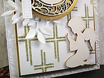 Papiernictvo - 1.sväté prijímanie I. pohľadnica - 10561524_