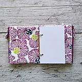 Papiernictvo - SIUS blok A6 - biely s ružovou potlačou - 10560434_