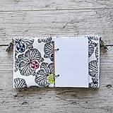 Papiernictvo - SIUS blok A6 - biely s čiernou potlačou - 10560456_