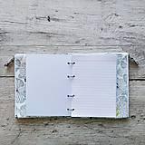 Papiernictvo - SIUS blok A5 - biely so šedou potlačou - 10560480_