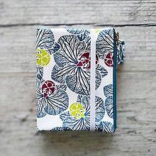 Papiernictvo - SIUS blok A6 - biely s modrou potlačou - 10560401_
