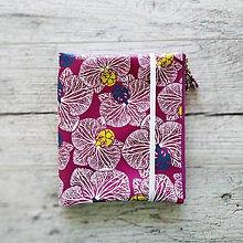 Papiernictvo - SIUS blok A5 - ružový s bielou potlačou - 10560514_