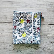 Papiernictvo - SIUS blok A5 - biely s modrou potlačou - 10560533_