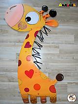 Detské doplnky - Dekorácia na zavesenie - Žirafa - 10562121_