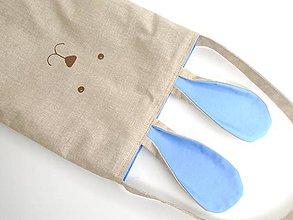 Detské tašky - Zajačia taštička na Veľkú noc - 10560274_
