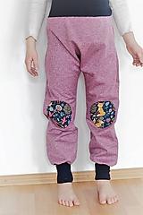 """Detské oblečenie - Softshellky """"líštičky na lúke"""" - 10560248_"""