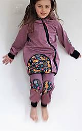 """Detské oblečenie - Softshellky """"líštičky na lúke"""" - 10560251_"""
