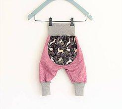"""Detské oblečenie - Softshellky """"jelenčeky"""" - 10561001_"""