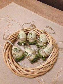 Dekorácie - Konvalinkové vajíčka - 10562822_