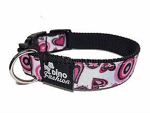 Pre zvieratká - Obojok Love Valentine - 10561290_