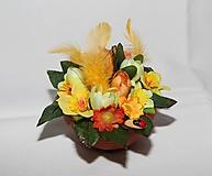 Dekorácie - Dekorácia na stôl - krókusy - 10560073_