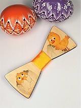 Doplnky - Pánsky drevený motýlik - 10562953_