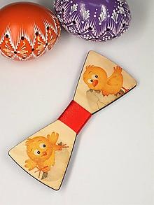 Doplnky - Pánsky drevený motýlik - 10562977_