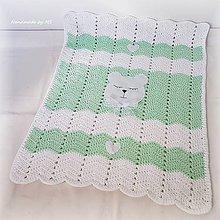 Textil - Detská deka MACKO - 10561634_
