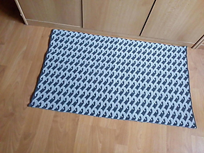 Úžitkový textil - Pletené koberce - 10561186_