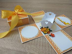 Papiernictvo - Exploding box pre dieťatko - 10561366_