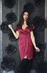 Šaty - Saténové šaty Drama rôzne farby - 10560124_
