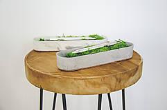 Nádoby - Luxusný betónový stojan na pero Calamus - 10561926_