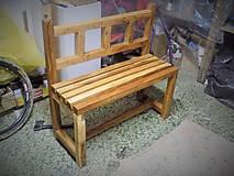 Nábytok - Balkónová lavica - 10562490_