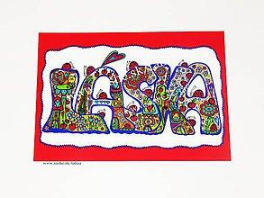 Kresby - LÁSKA - originál maľovaný obrázok - 10561354_