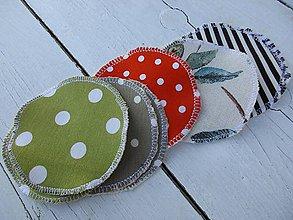 Úžitkový textil - Tampóny pre dojčiace mamičky -bez PUL - 10561967_