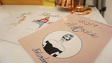 Papiernictvo - Kreslený Kalendár  + organizér - 10560218_