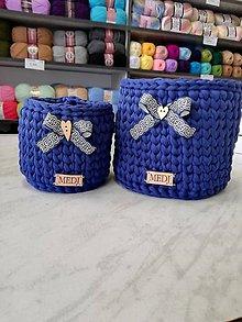 Košíky - Košíky v modrom - 10561275_