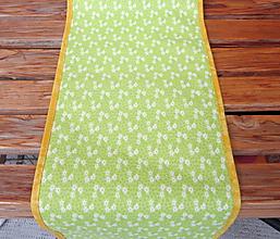 Úžitkový textil - Jarná lúka - stredový obrus - 10562216_