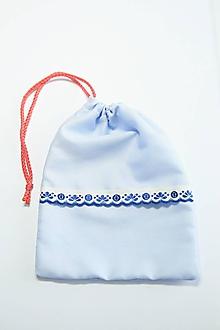 Úžitkový textil - Ľudové vrecúško II - 10562486_