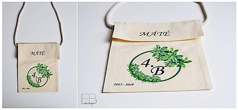Iné tašky - Batohy na rozlúčku - 10563429_
