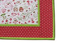 Úžitkový textil - Prestieranie zeleno-červené - 10564632_