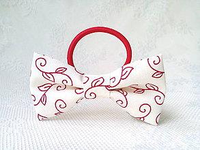 Ozdoby do vlasov - Romantic hair bow - 10565637_