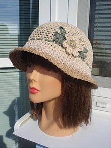 Čiapky - letný klobučik - 10565121_