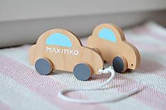 Hračky - Ťahacia hračka autíčko - 10564362_