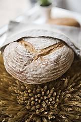 Úžitkový textil - Vrecko na chlieb s motívom krajka  (Vrecko na chlieb krajka malé) - 10564569_