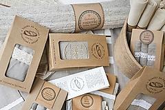 Úžitkový textil - Vrecko na chlieb s motívom semienko života - 10564688_
